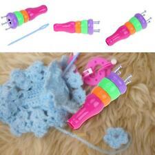 New Plastic Yarn Wool Knitter Knitting Craft Loom Rope Braided Maker DIY Tools