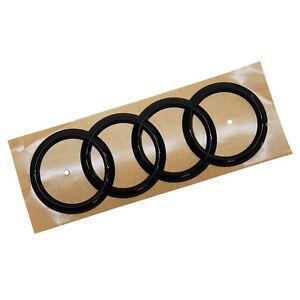 ORIGINAL Audi Emblem Logo Audi Ringe schwarz Heckklappe A1 8U0853742B T94