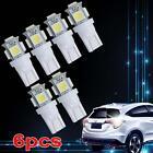 6x T10 SMD Cool White Car 5-smd Backup Reverse LED Light Bulb 921 912 906 168 ✿C