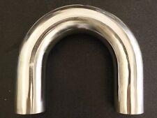 "2.5"" 304 Stainless Steel U Bend 180 Degree exhaust pipe tubing"