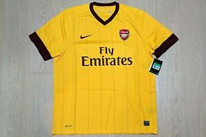 2010-13 Arsenal Away Shirt S/S size XL *w/tags