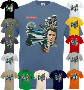 Magnum Force v5 T shirt Clint Eastwood 100% cotton all colors all sizes S-5XL