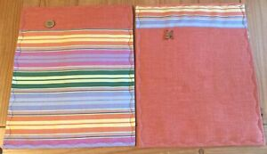 Colorful Placemats Handmade Reversible New