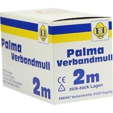 PALMA Verbandmull 80 cm 2 m zickzack Lagen 1 St