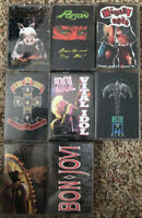 YOU PICK Cassette Tapes Lot 80's Metal - GnR, Motley Crue, AC/DC, Ozzy + More!