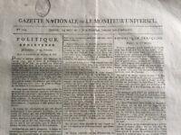 Arènes de Nîmes en 1798 Gard Archéologie Romaine Empire Gazette Nationale