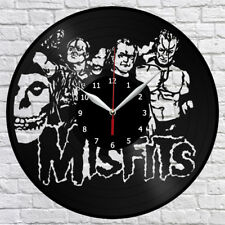 Misfits Vinyl Record Wall Clock Home Decor Fan Art Original Gift 3762