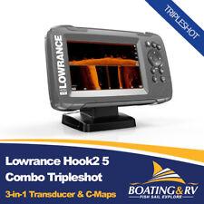 Lowrance Hook2 5 Combo Tripleshot + Transducer + Maps | Fast & Free Shipping