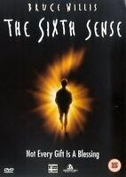 The Sixth Sense -Bruce Willis, M. Night Shyamalan NEW SEALED UK REGION 2 DVD PAL