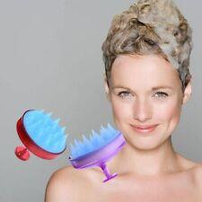 Massage Brush Head Scalp Comb Hair Cleaning Washing Shower Bath Props Shampoo