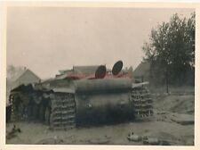 Foto, Erlebnisse von W.Stipp aus Olpe, russ. Panzer, Berezina, 1941 (W)1897
