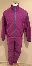 Rare VTG NIKE Gray Tag Lined Tracksuit Pink Jacket Pants Women's Sz L,14