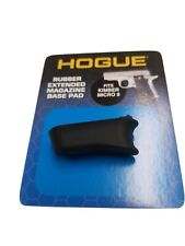 Hogue Rubber Extended Magazine Base Pad For Kimber Micro 9-Black *39030*