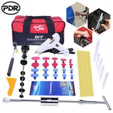 PDR Tool Paintless Dent Repair Puller Lifter Slide Hammer T Bar Glue Removal Kit