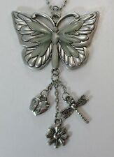 G Beautiful Butterfly Glow In The Dark Car Charm Mirror Ornament Ganz
