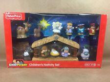 NEW Fisher Price Little People Children's Nativity Play Set Mary Joseph Jesus +