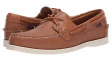 Sebago Docksides Portland Brown/Tan Boat Shoe Men's sizes 7-13 Medium/NEW!!!