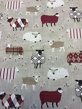 Baa Baa Peony Fabric Remnant 100% Cotton