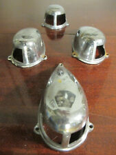 ⚓Runabout Lampen-Abdeckungen,Licht,Oldtimer,Chrom (Boesch,Chris Craft,Riva)