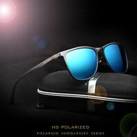 Retro Aluminum Brand Men's Sunglasses Polarized Lens Sport Driving Eyeglasses
