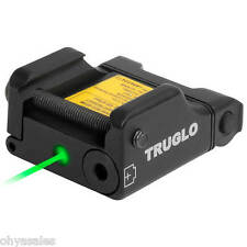 TruGlo GREEN Laser Sight Micro-Tac Mounts to Standard Picatinny Rail - TG7630G