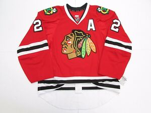 KEITH CHICAGO BLACKHAWKS AUTHENTIC HOME TEAM ISSUED REEBOK EDGE 2.0 7287 JERSEY