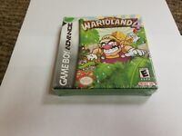 Wario Land 4 (Nintendo Game Boy Advance, 2001) new box damaged