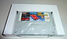 10 x super nintendo snes game cardboard box insert inlay tray reproduction