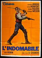 M231 Manifesto 4F L'Indomable Georges Riviere Silvia Monfort Jeanne Valerie Wi