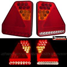 2x piloto trasero 5 funciones de LED HOMOLOGADO para remolques, caravanas, vans