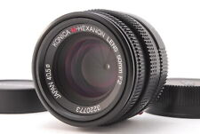 【EXCELLENT+】Konica M-HEXANON 50mm f/2 Leica M Mount Lens from Japan (410-E432)