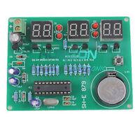 9V-12V AT89C2051 6 Digital LED Electronic Clock Parts Components DIY Kit