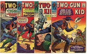 Two-Gun Kid #84, 87, 88, 90, 93 - 95, 102  avg. VG/FN 5.0  Marvel  1966  No Resv