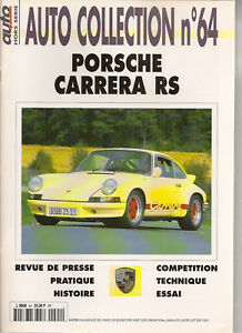 AUTO COLLECTION 64 PORSCHE 911 CARRERA RS 2.7 1973 RS73 911 RS 3.0 1974 RS74