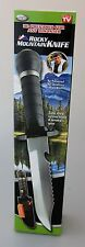 AS SEEN ON TV ROCKY MOUNTAIN KNIFE AND SURVIVAL KIT - NEW IN BOX