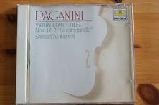 Rare Deutsche Grammaphone Paganini Violin Concertos 1+2 Askennasi 57mins Vienna