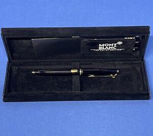 Mont Blanc 281 Black lever ball pen