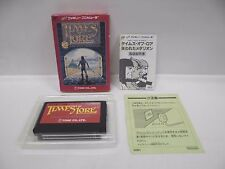 TIMES OF LORE -- Boxed. Famicom, NES. Japan game. Work fully. 10816