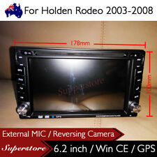 "6.2"" Double DIN Navigation Car DVD GPS Stereo Player 2 din For Holden Rodeo"