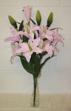 Flores secas y artificiales decorativas ramos para el hogar