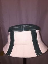 813) NWT auth STETSON Canvas Bucket HAT design sample SIZE M retail:  $129-$299
