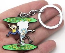 """Rick and Morty TV Series Portal Design 2"""" Keychain"""