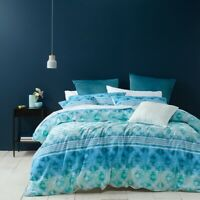 Bianca Wren Quilt Cover Set Blue in All Sizes