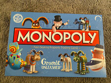 Wallace And Gromit - Gromit Unleashed Monopoly - Mint Condtion Collectable Rare