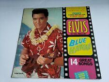 ELVIS PRESLEY: BLUE HAWAII Vinyl Record Lp (RCA, LPM-2426) *Black Label*