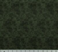 Pine Tree Green Blender Tonal Cotton Quilting Fabric