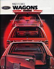 1982 Ford Kombi 16-page Auto Verkaufsbroschüre Katalog - Ltd Granada Escort