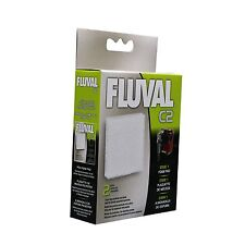 Hagen Fluval Power Filter Foam Pad: C2 Filter Pad - 2 Pack #14005