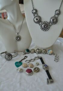 Lot Of Petite & Ginger Snaps Necklaces/Bracelets & Loose Charms.   (JE1S)