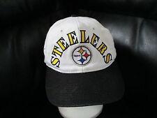 vtg 1990s PITTSBURGH STEELERS 4X SUPER BOWLS HAT Sewn Cap 1975 76 79 80 Snapback